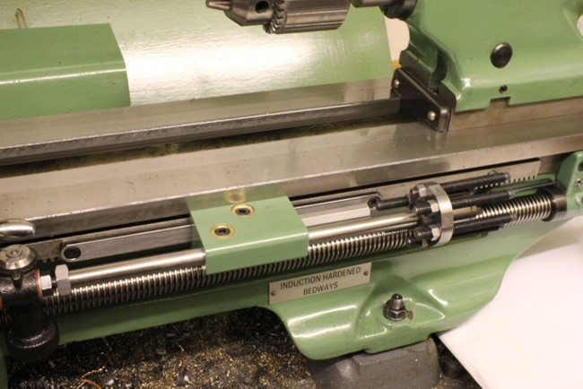 Lathe Carriage Stop with micrometer adjustment Projects In Metal